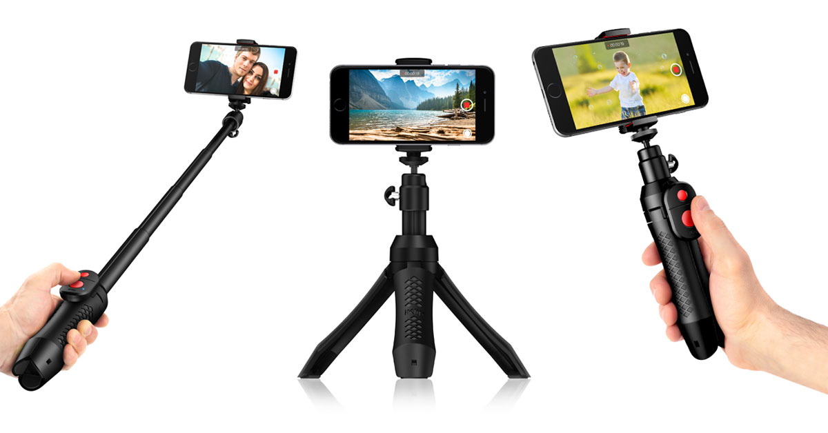 iKlip Grip Pro in Three Modes