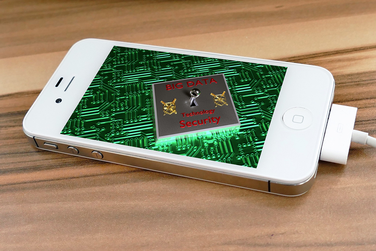 Generic image of unlocking an iPhone. Apple's differential privacy could be less private than we think.