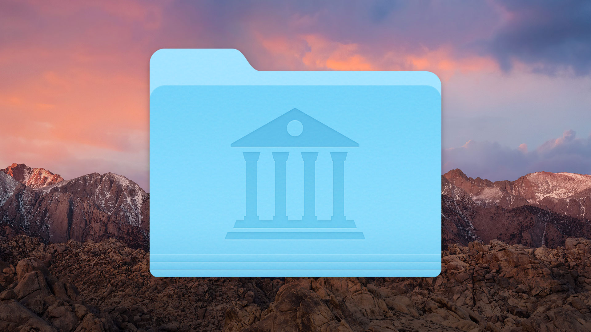 How to Show the User Library Folder in macOS Sierra - The