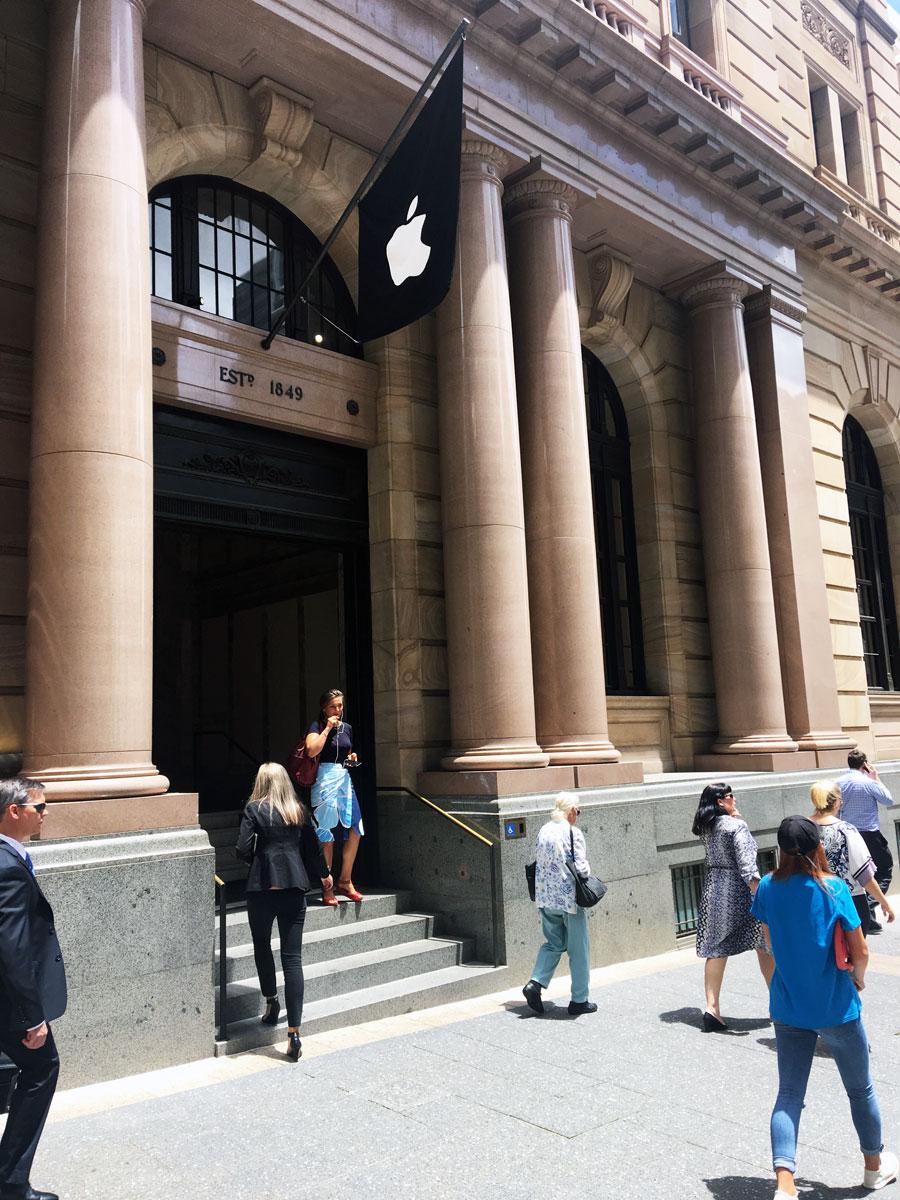 Street view of Apple Brisbane