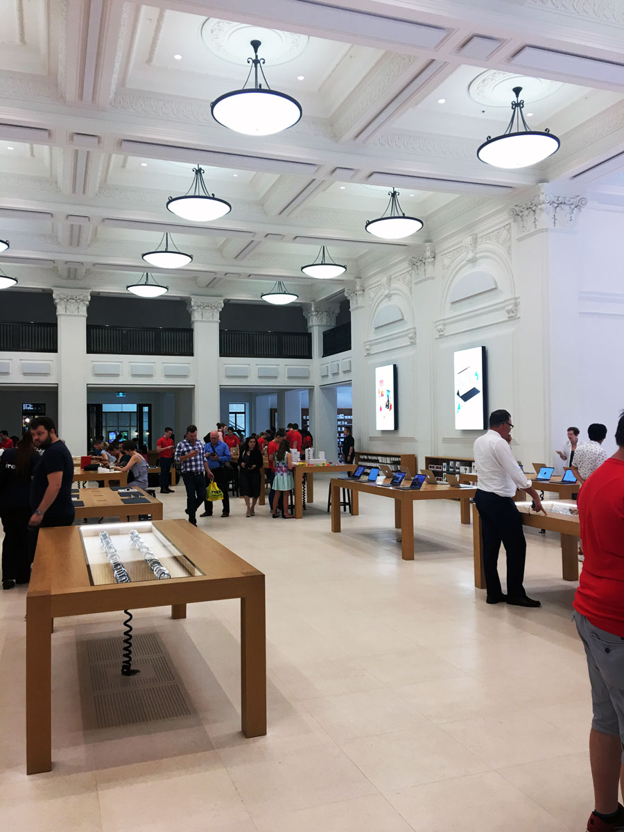 Inside Apple Brisbane