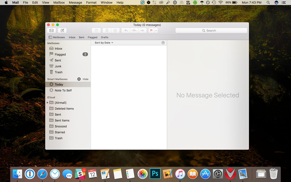apple mail smart mailbox