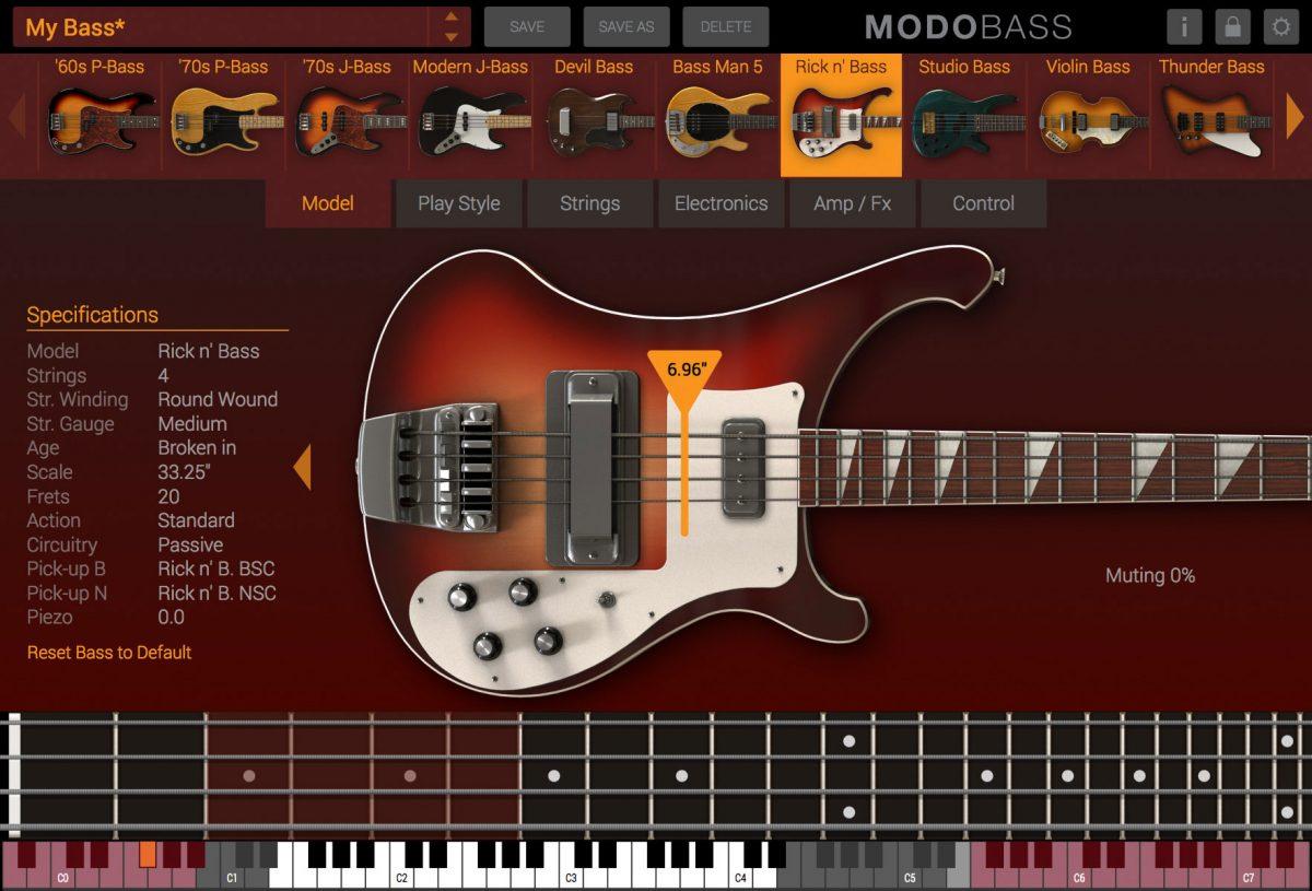 Screenshot from MODO BASS