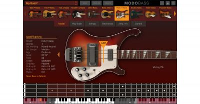 Screenshot from MODO BASS