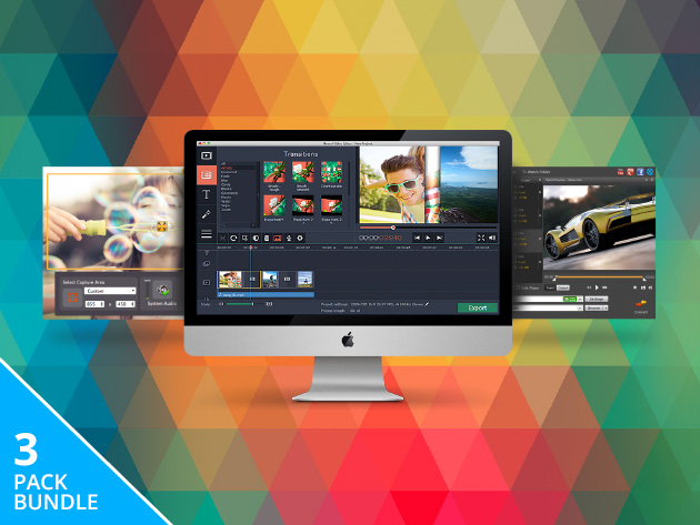 Movavi Multimedia Editing Bundle for Mac: $43.95