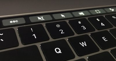 PDFpen Pro 8.3 Touch Bar controls