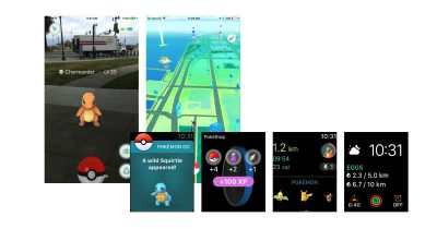 Pokémon GO for Apple Watch