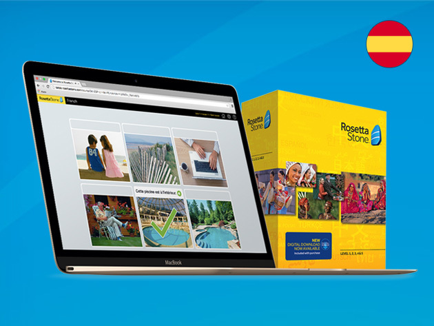 Rosetta Stone Language Box Set (Levels 1-4): $139.99