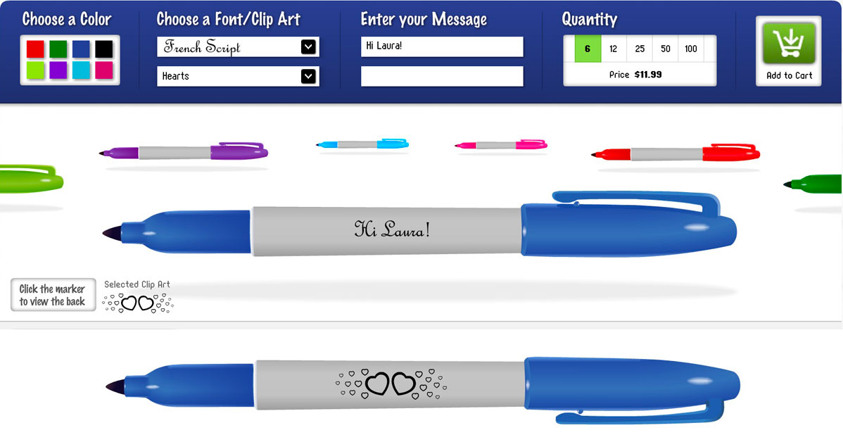 Did You Know You Can Order Personalized Sharpies?