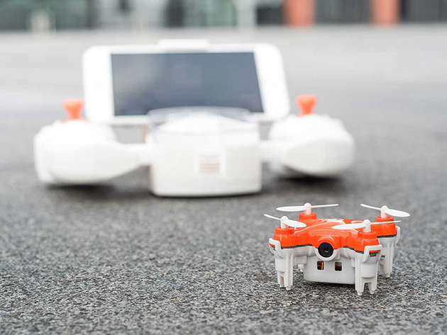 SKEYE Nano 2 First-Person View (FPV) Drone: $99