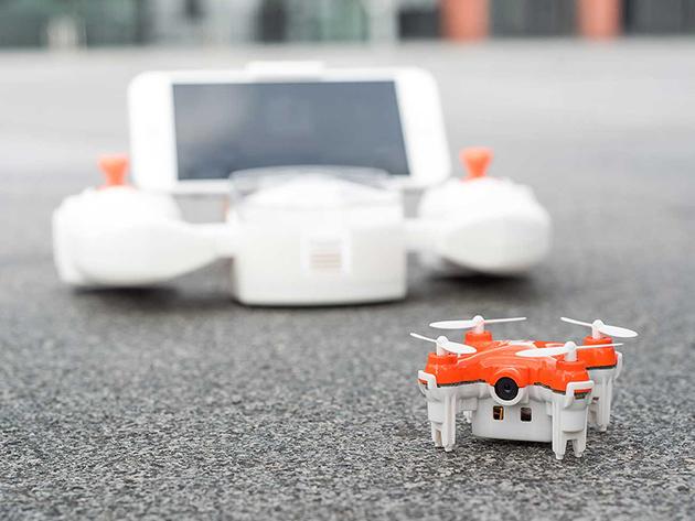 SKEYE Nano 2 First-Person View (FPV) Drone: $99