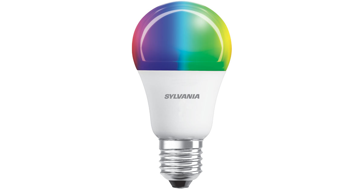 Sylvania Smart Multicolor A19 Bulb with HomeKit Support
