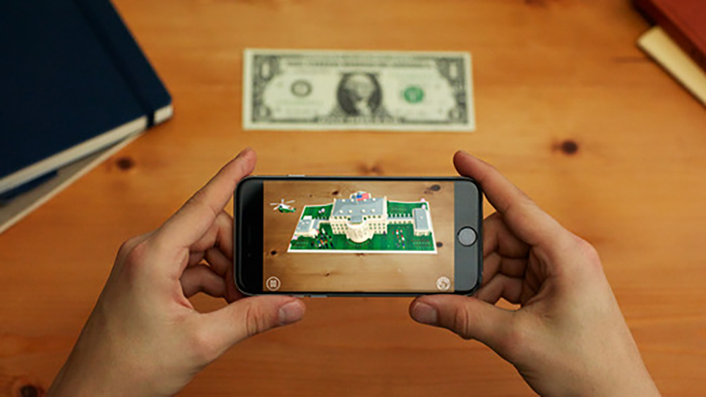 Turn $1 Into an Augmented Reality Tour of the White House
