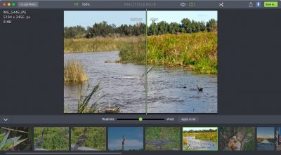 Using Photolemur: Before (left) and after (right).