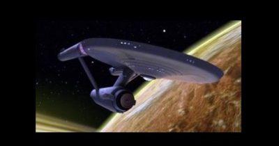 Star Trek's NCC-1701 Star Ship Enterprise