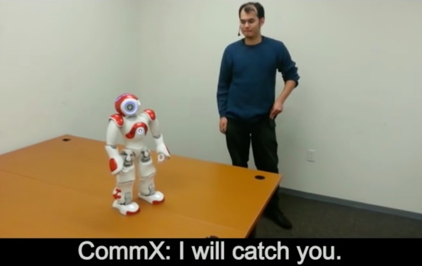 The robot that refused an order.