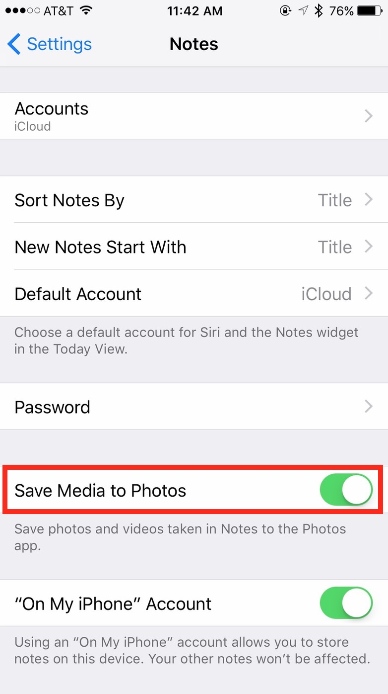 Save Media to Photos