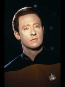 Star Trek: TNG. Lt Commander Data