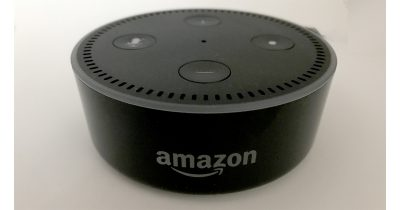 Amazon Echo Dot responding to