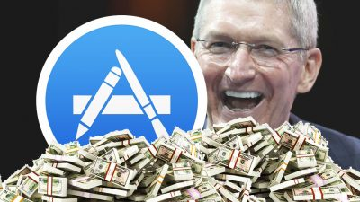 app store revenue tim cook