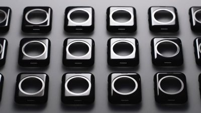 apple watch manufacturing