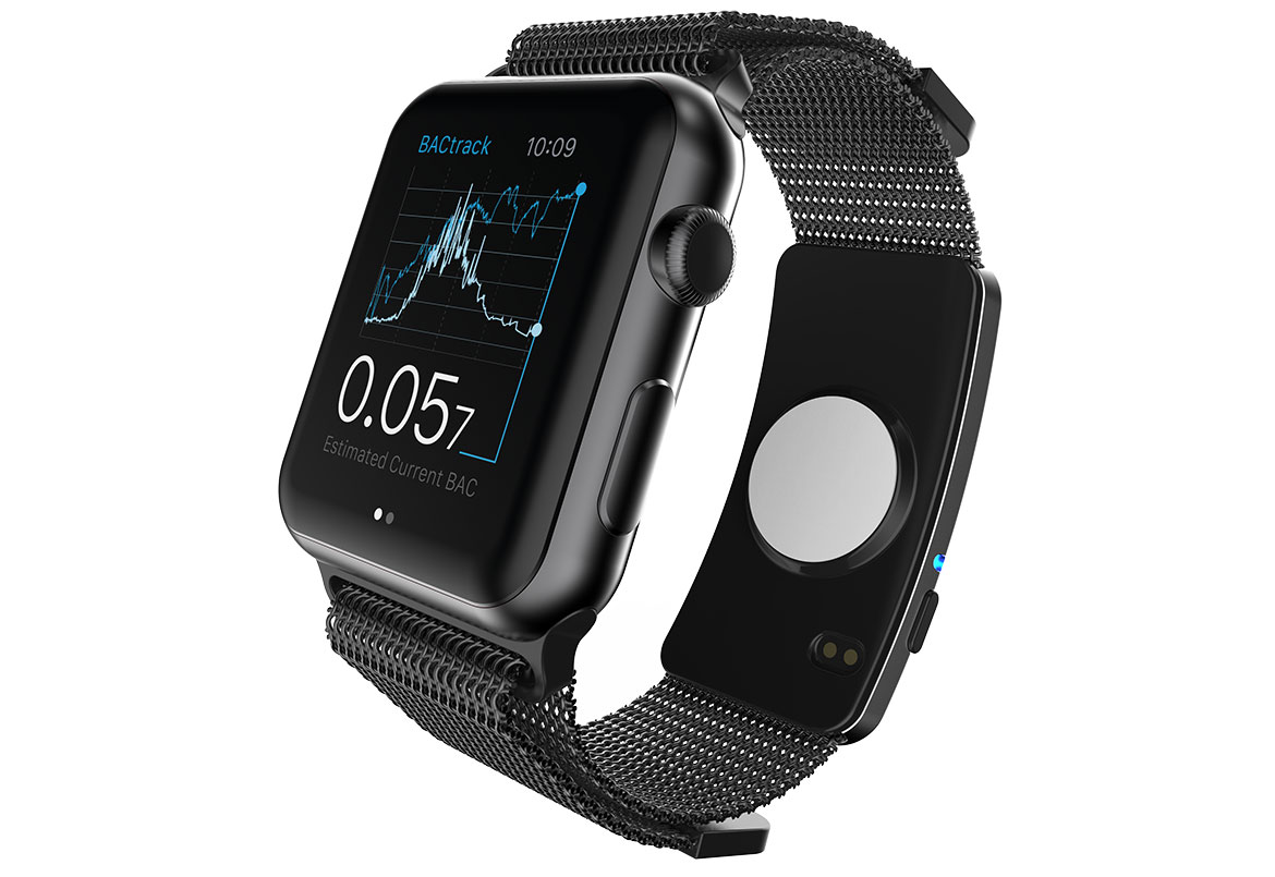 Track Your BAC With This Wearable Alcohol Monitor for Apple Watch
