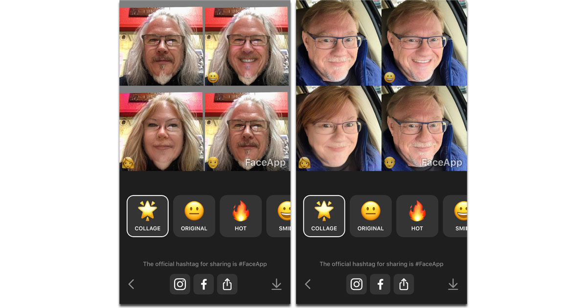 FaceApp Uses Neural Net to Add Smiles, Make You Old or Young, Change Gender