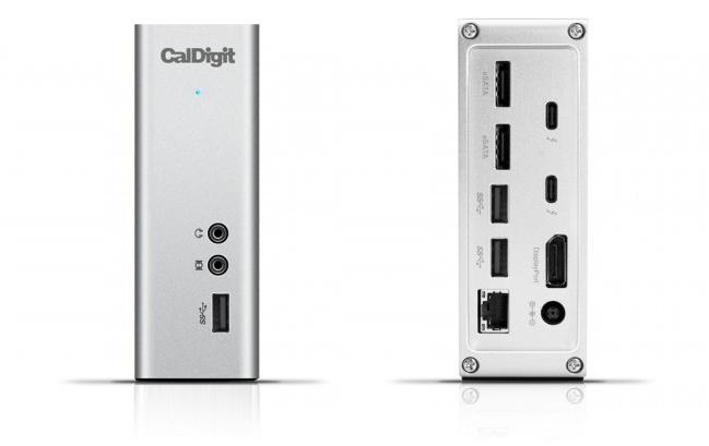 caldigit thunderbolt station 3