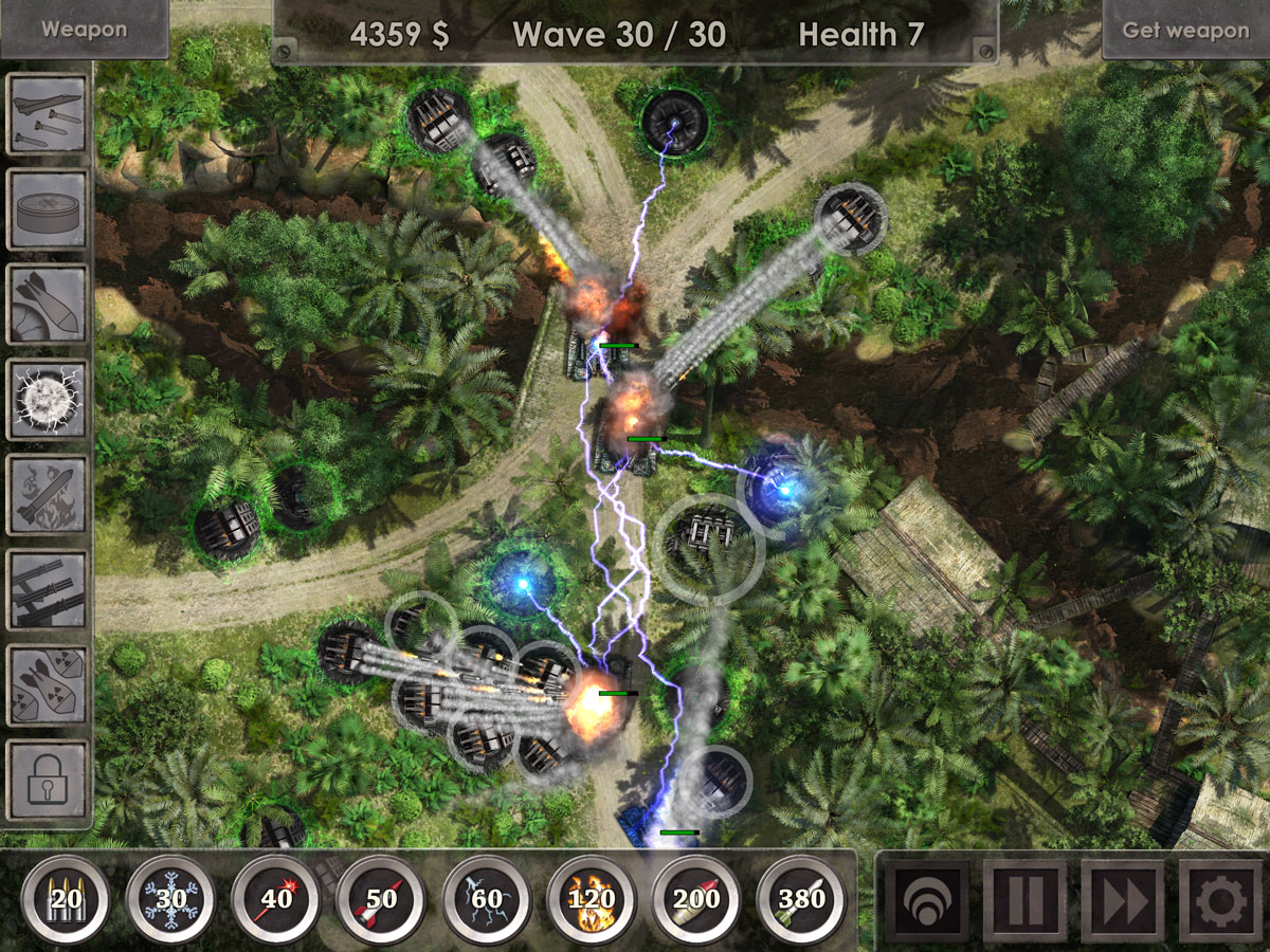 Defense Zone 3 Ultra HD for iOS, a Tower Defense Gem Burning a Hole In My Brain