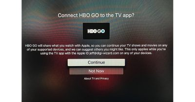 HBO Go adds TV app support for iPhone, iPad, and Apple TV