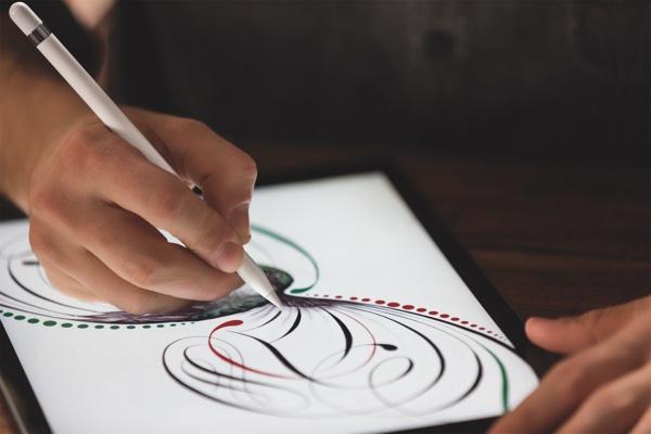 iPad Pro and Apple Pencil.