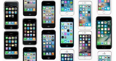 10 years of iPhones photo mosaic
