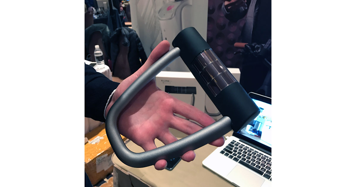 CES 2017 Wrap-up: Ellipse Bike Lock Is Smart and Solar Powered