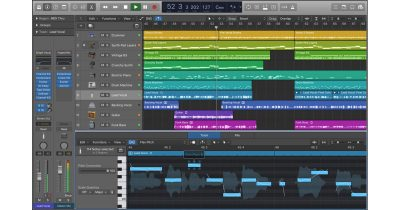 Logic Pro X 10.3 Interface Screenshot