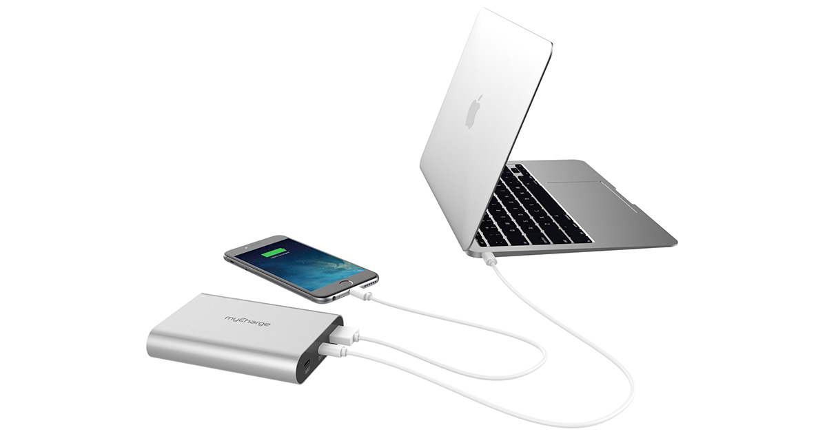 myCharge Gets its USB-C Portable Charger Game On at CES 2017