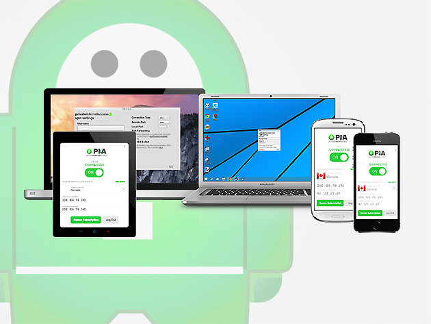 Private Internet Access VPN 1 Year Subscription: $34.95