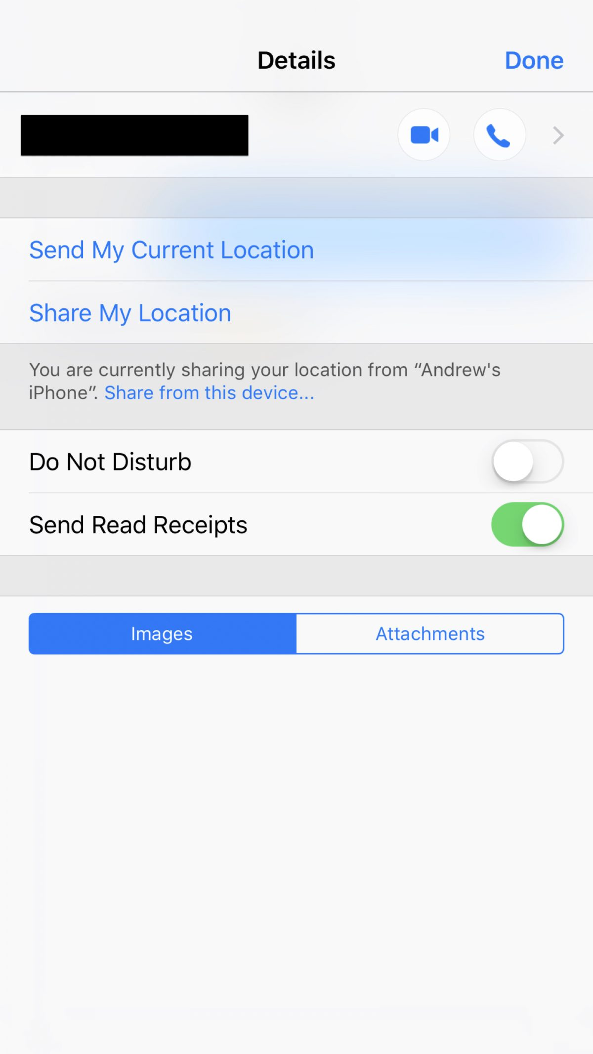 ios selectively control receipts for imessage the mac   receipt control
