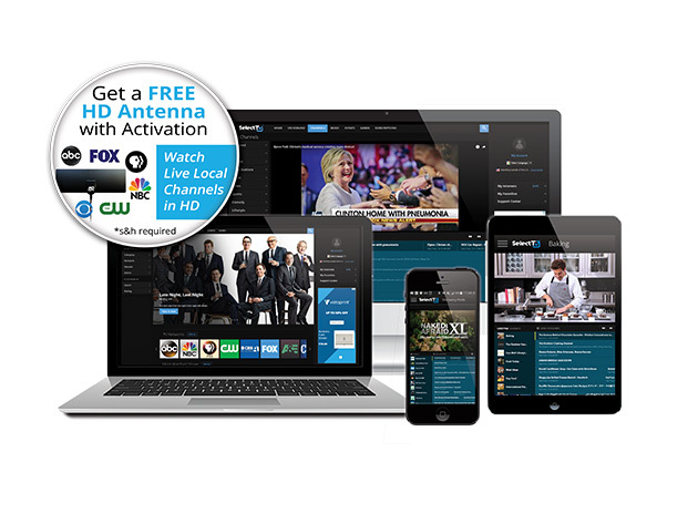SelectTV by FreeCast 1-Year Subscription: $24