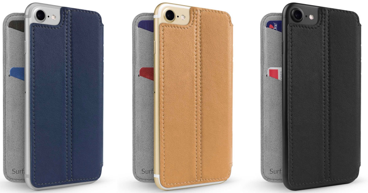 finest selection a167e aa2e4 Twelve South's SurfacePad Leather Case Comes to iPhone 7 and iPhone ...