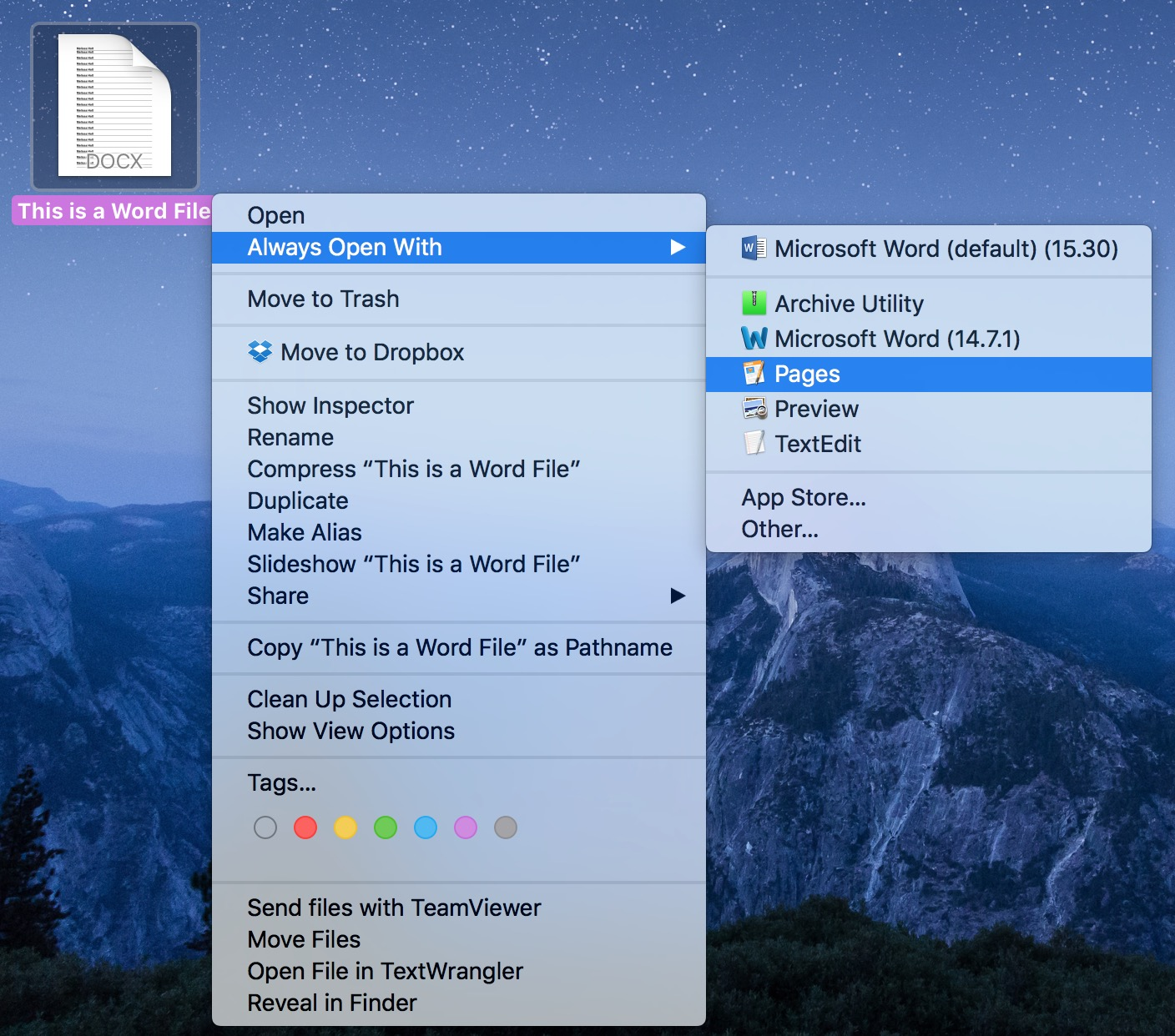 how to open all my files on mac