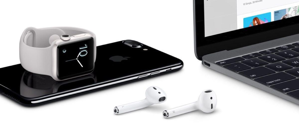 Apple's current family portrait