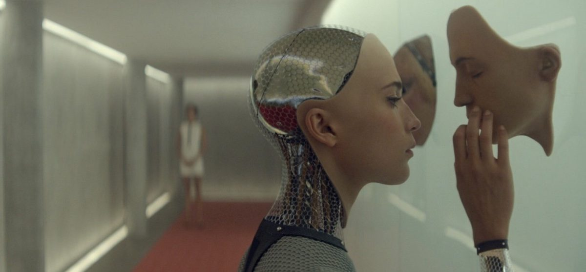 Alicia Vikander as AI/android Ava. AI Technology.