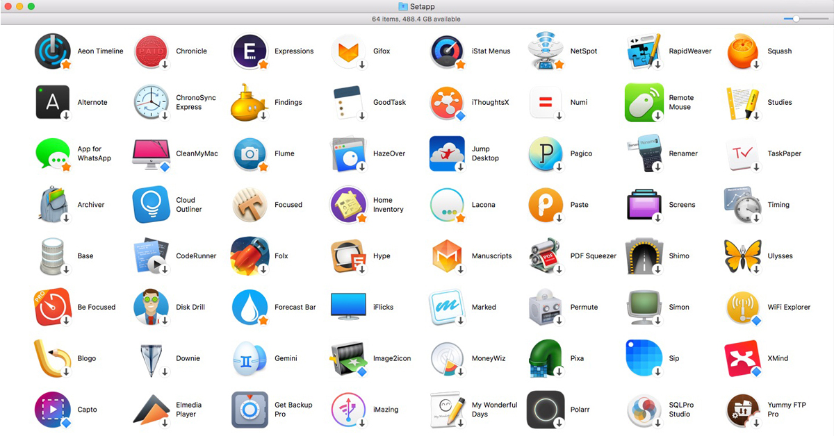 Setapp app subscription service for the Mac