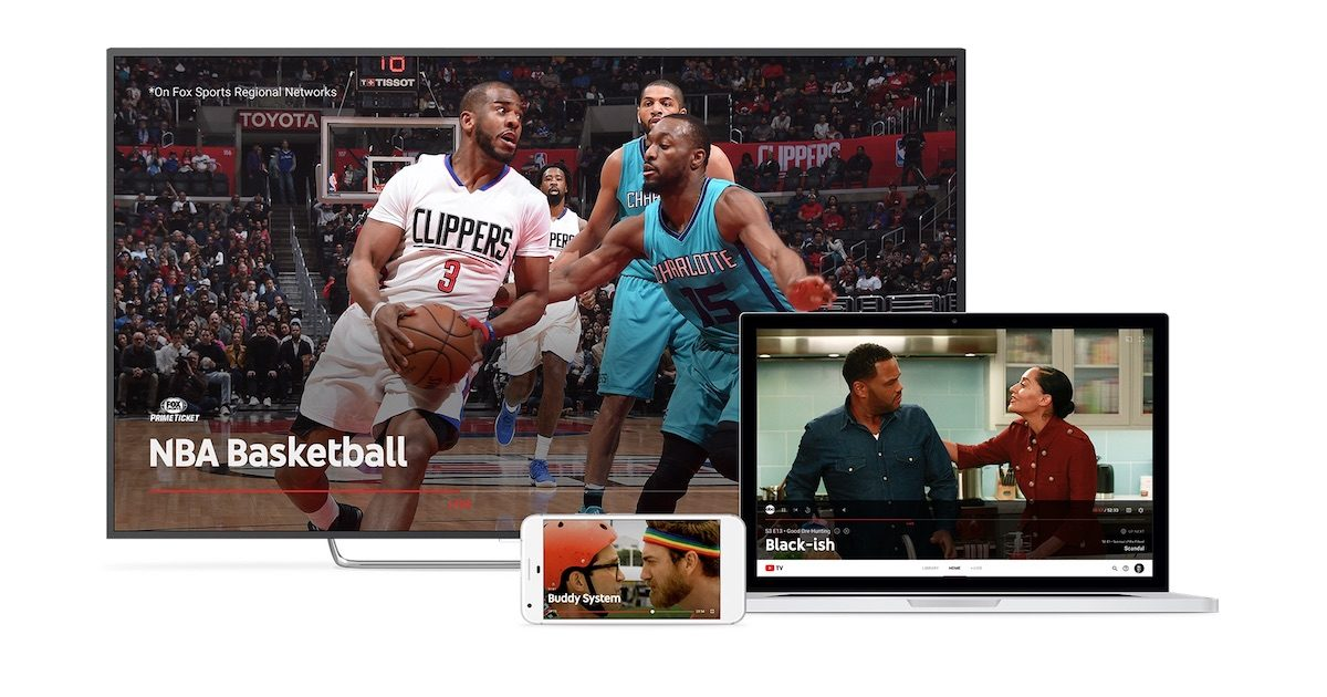 Live TV with YouTube TV