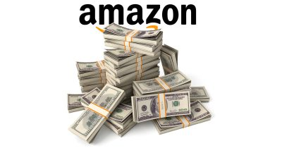 Amazon and a pile of money