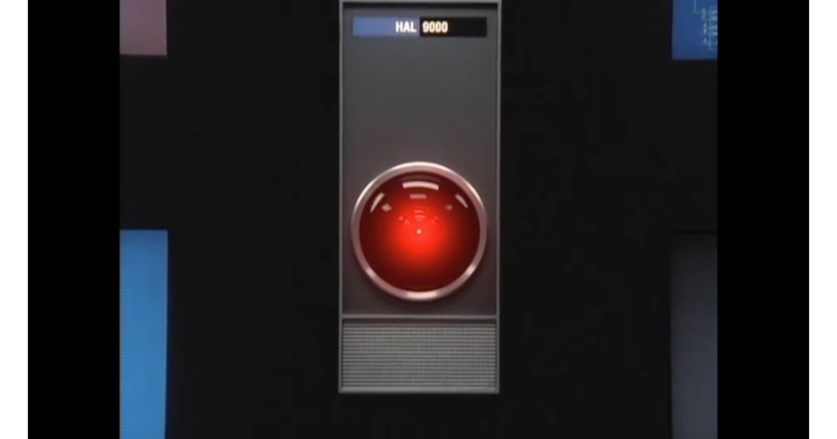 Screenshot from Apple's 'HAL' Ad