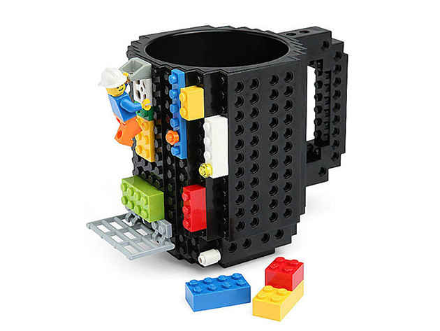 Build-On Brick Mug: $19.99
