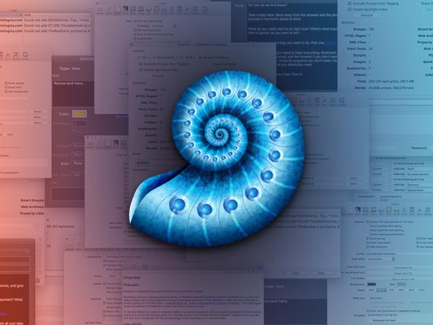 DEVONthink Pro for Mac: $39.95