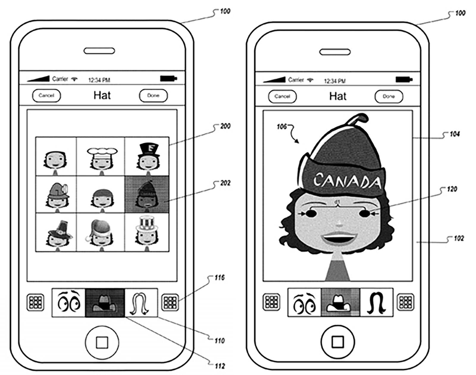 avatar customization diagram