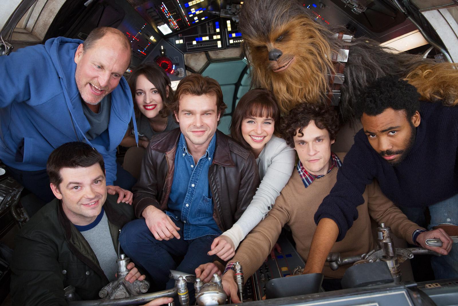 Han Solo Star Wars Movie Starts Filming